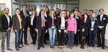 Abbildung (cevet - centre for vocational education and training): Zum Kick-off-Meeting des Projektes NetEnquiry trafen sich am 4.11.2013 Projektträger und die Projektpartner mit dem Paderborner Wirtschaftspädagogen Prof. Dr. Marc Beutner (5. v. l.) und