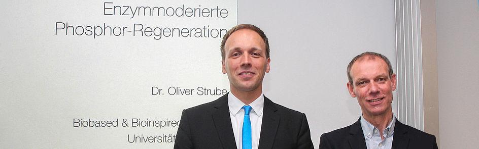 Dr. Oliver Strube Forschungspreisträger 2017