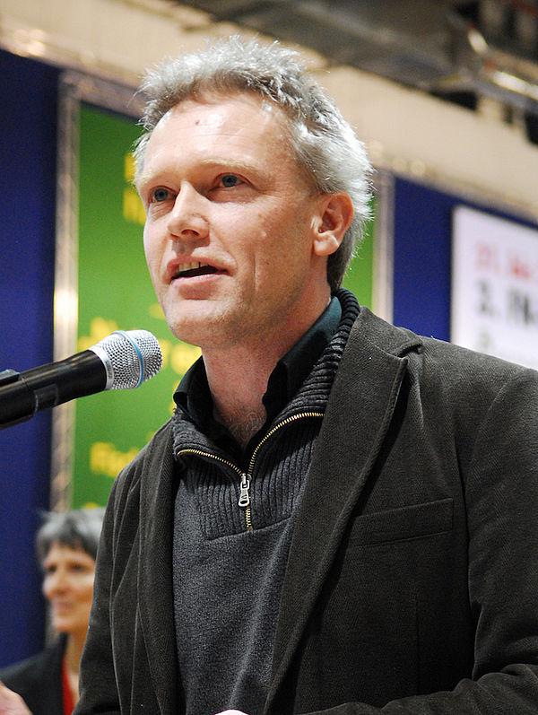Foto: Der Referent des Abends: Sven Mindermann