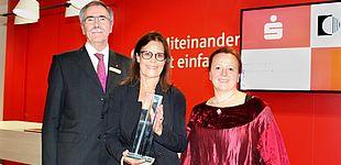 Foto (Universität Paderborn, Ricarda Michels): Preisverleihung