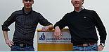 Foto: Freuen sich auf neue Mitglieder: Thomas Spanuth (li.) und Holger Hagedorn von der Debating Society Paderborn.