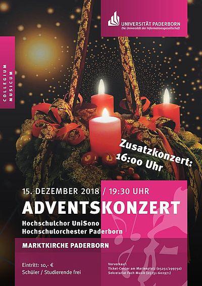 Plakat Adventskonzert 2018
