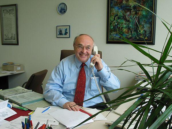 Foto: Prof. Dr.-Ing. Manfred Pahl