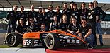 Foto (UPBracing Team e. V.): Das UPBracing Team glänzt bei der Formula Student UK in Silverstone.