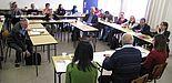 Abbildung: Workshop bei der libanesisch-deutschen Begegnung im Libanon im März 2013