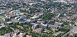 Foto (Universität Paderborn, Johannes Pauly): Aktuelles Luftbild der Universität Paderborn, Juni 2017.