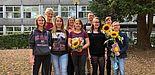 """Foto (Universität Paderborn): Teilnehmerinnen des Mentoring-Programms """"look upb""""."""