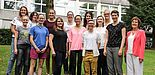 Foto (Universität Paderborn): Die Teilnehmerinnen des Mentoring-Programms.