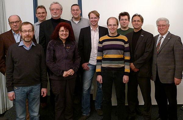Foto (Universität Paderborn, Alexandra Dickhoff): Die Mitgliederversammlung 2011 von Alumni Paderborn hat im Jenny Aloni-Gästehaus der Universität stattgefunden.