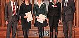 Foto (Bundesinstitut für Berufsbildung, BIBB): v. li: Prof. Dr. Uwe Faßhauer, Dr. Andrea Zoyke, Dr. Juliana Schlicht, Prof. Dr. Karin Büchter, Prof. Dr. Reinhold Weiß.