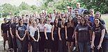 Foto (Yannik Dahmann, TecUP): Teilnehmer*innen und Interessent*innen des Social Impact Festivals.