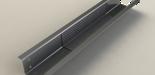 Foto: U-Profil mit partieller CFK-Verstärkung