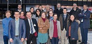 Abbildung: Auftakttreffen in Paderborn: Wissenschaftler des EU-Projekts ANYWHERE.