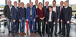 Foto (Universität Paderborn, Johannes Pauly): Die Teilnehmerinnen und Teilnehmer der 188. Sitzung der LRK NRW an der Universität Paderborn.