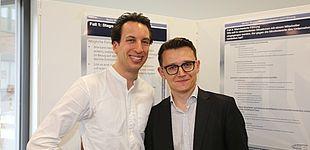 Foto (R. Schwarz): Dr. Bernd Gössling mit Inlogy-Gründer Viktor Schwenke.