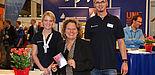 Foto (Einstieg GmbH): Ministerin Schulze mit Mitarbeitern der ZSB der Uni Paderborn.
