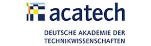 Logo acatech - Deutsche Akademie der Technikwissenschaften