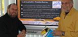 Foto (Christiane Bernert): Machen sich stark für die Weiterentwicklung der Lernstatt Paderborn (v.li): Prof. Dr.-Ing. Reinhard Keil, Fachgruppe Informatik und Gesellschaft am Heinz Nixdorf Institut der Universität Paderborn und Detlef Schubert, Fachbera