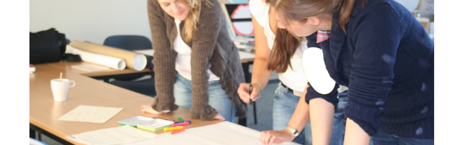 Peer-Mentees erarbeiten gemeinsam Strategien zur Vorbereitung. Foto: Peer-Mentoring