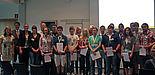Foto: Die neuen Teilnehmerinnen und Teilnehmer aus Paderborn mit Martin Nixdorf (2. v. li.), Vorsitzender der Heinz Nixdorf Stiftung.