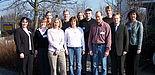 Foto: Die Teilnehmerinnen und Teilnehmer der business update 2006 mit Vertretern der Veranstalter