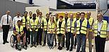 Foto: 15 Nachwuchskräfte informierten sich über das Thema Arbeitssicherheit.