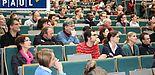 Foto: Über 400 Hochschulangehörige nahmen an der PAUL-Informationsveranstaltung im Audimax teil.