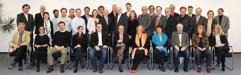Foto vom Senat der Universität Paderborn, 08.11.2017