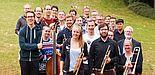 Foto (Universität Paderborn): Das Ensemble der Unity Big Band tritt am 13. Juli auf dem Campus der Universität Paderborn auf.