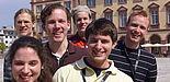 Foto: Mitglieder der Debating Society Paderborn auf einem Turnier in Mannheim