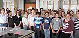 Foto (Universität Paderborn, Institut für Ernährung, Konsum und Gesundheit): Schüler und Schülerinnen der Sekundarschule Beverungen.