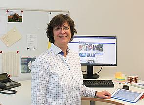 Foto (Universität Paderborn, Johannes Pauly): Prof. Dr. Ilka Mindt