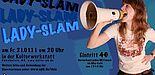 Abbildung: Plakat Lady-Slam