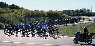 Foto (Heiko Appelbaum): Der Bilster Berg war Austragungsort der Deutschen Rennrad-Hochschulmeisterschaften 2018.