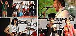 Abbildung: Radical Audio Pool-Bühne auf dem AStA-Sommerfestival 2011 (Fotos: Anna Schiwitza)