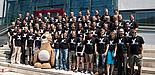 Foto (Universität Paderborn): Hochmotivierte Studierende der Universität Paderborn entwickeln neue Computerspiele.