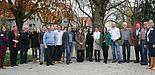 Foto (GEB – Geschäftsstelle für EU-Projekte und berufliche Qualifizierung der Bezirksregierung Düsseldorf): Gruppenbild webLab-Projektteam