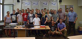 Foto (Prof. Katrin Temmen): Gruppenbild