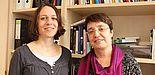 Foto (Universität Paderborn, Frauke Döll): Die Soziologinnen Dr. Romy Reimer und Prof. Dr. Birgit Riegraf (v. l.) haben die Ergebnisse einer Studie zur Pflegesituation in Deutschland und zum Konzept der Wohn-Pflege-Gemeinschaften vorgelegt.
