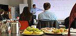 Foto (Stefanie Disse, Connext GmbH): Karrierefrühstück bei Connext.
