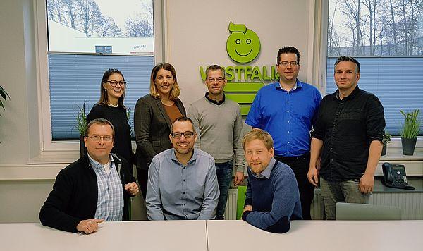 Foto (Universität Paderborn): Gruppenbild