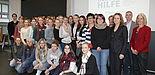 Foto (Universität Paderborn, Nina Reckendorf): Besuchten am Welttag der Philosophie die Universität: 50 Schülerinnen und Schüler der umliegenden Gymnasien.