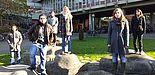 """Foto (Universität Paderborn): Die Theatergruppe des Instituts für Romanistik der Universität Paderborn präsentiert das Stück """"Tejas Verdes"""" von Fermín Cabal."""