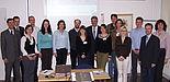 """Foto: Teilnehmer und Veranstalter der """"business update 2007""""."""