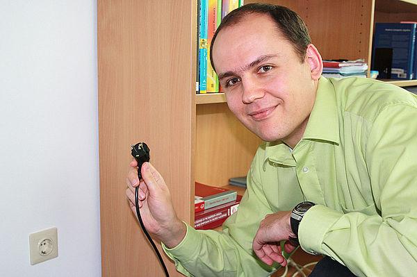 Foto (Katharina Bätz): Jun.-Prof. Dr. Christoph Sorge