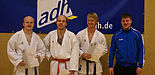 Foto: (v. l.) Michael Wiesing, Dennis Dreimann, Bernd Nowotzin und Simon Cepin.