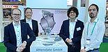 Foto (AMendate GmbH): Der Award der Challenge zeichnete den Stand des Paderborner Startups als Gewinner aus und sorgte auf der Messe für viel Aufmerksamkeit.