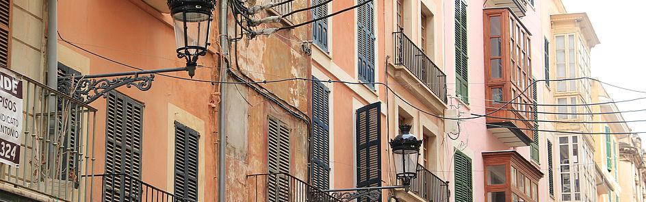 In den Gassen Palmas - der Hauptstadt der Baleareninsel Mallorca