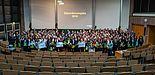 Foto: Stipendienvergabefeier im Audimax der Universität Paderborn im November 2018.