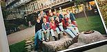 Foto: Throwbackthursday: 25 Jahre nach ihrer Amtszeit im AStA haben die Ehemaligen den Campus wieder besucht.